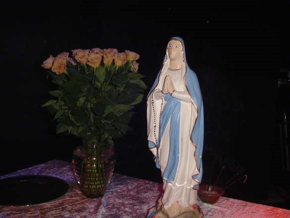 Mariabeeld-Maria
