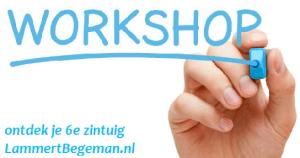 Het zesde zintuig workshop
