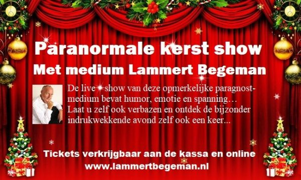 Lammert Begeman kerst show