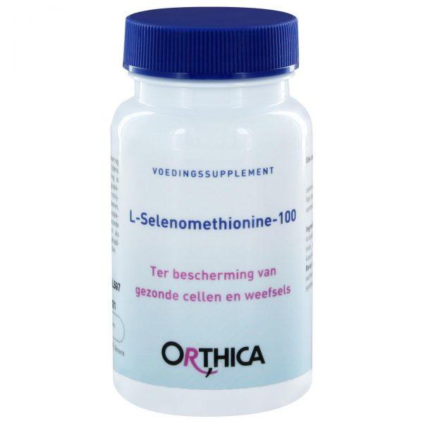 Orthica l-Selenomethionine-100(60 caps)