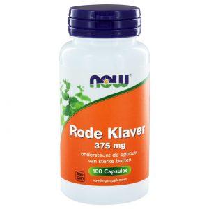 NOW Rode Klaver 375 mg(100 caps)
