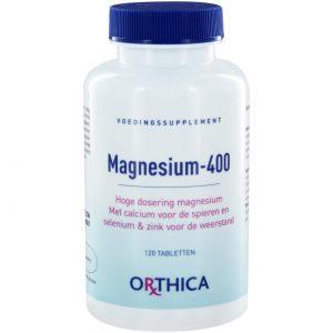 Orthica Magnesium-400(120 tab)