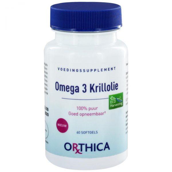 Orthica Omega 3 Krillolie(60 softgels)