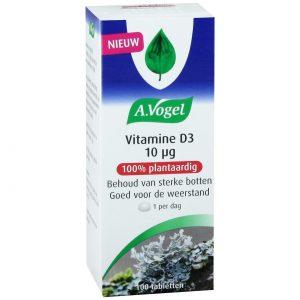 A. Vogel Vitamine D3 10 mcg