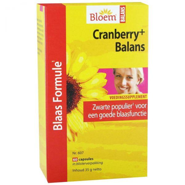 Bloem Cranberry+ Balans(60 caps)