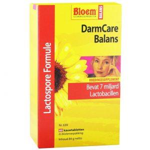 Bloem Darmcare Balans(60 kauwtab)