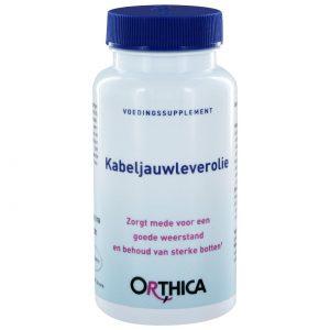 Orthica Kabeljauwleverolie(90 softgels)