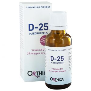 Orthica D-25 oliedruppels(15 ml)