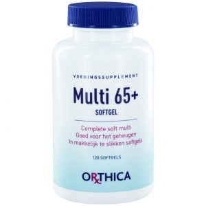 Orthica Multi 65+(120 softgels)