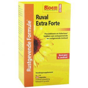 Bloem Ruval Extra Forte zonder Sint-Janskruid(100 caps)