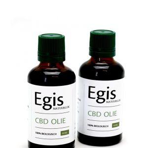 CBD olie Egis Natuurlijk 10% - 2x 50ml oftewel 100ml