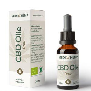 Medihemp CBD Raw Naturel 5% 30ml
